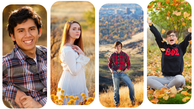 Senior and family sessions still available this fall starting at $175
