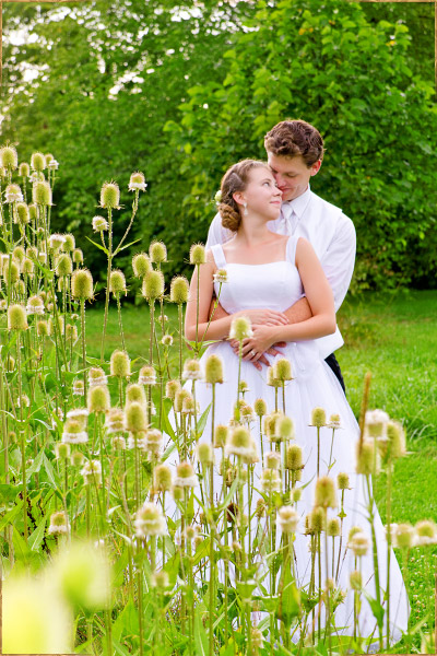 Posed wedding portraits in State College, Pennsylvania